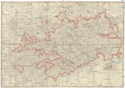 Post-Charte des Königreich Sachsen und der angränzenden Ländern