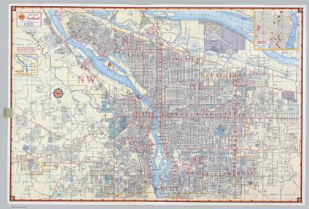 Shell Street Map of Portland.
