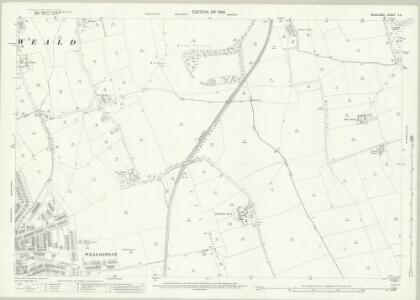 Middlesex X.4 (includes: Harrow) - 25 Inch Map
