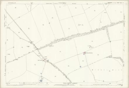 Yorkshire CXLIII.10 (includes: Fimber; Kirby Grindalythe; Wharram) - 25 Inch Map