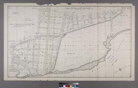 Map or Plan of Section 12. [Bounded by E. 176th Street, Southern Boulevard, E. 182nd Street and Bronx River.]