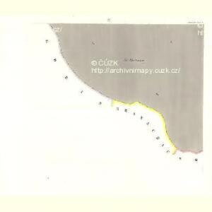 Ausilau (Auslow) - c8266-1-004 - Kaiserpflichtexemplar der Landkarten des stabilen Katasters