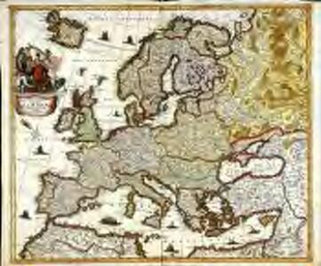Nova et accurata totius Europæ delineatio vulgata