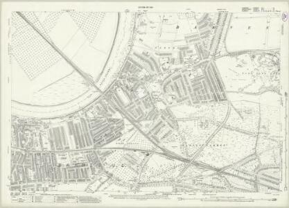 London (1915- Numbered sheets) VIII.6 (includes: Barnes; Mortlake; Wandsworth Borough) - 25 Inch Map