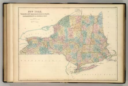 New York and New England.