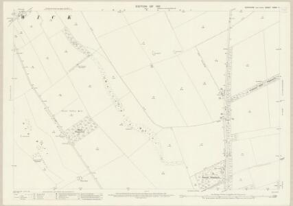 Yorkshire CXXVI.11 (includes: Foxholes; Thwing) - 25 Inch Map