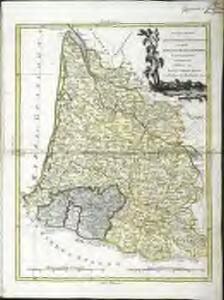 Li governi di Guyenna e Guascogna con quello di Bearn e Bassa Navarra