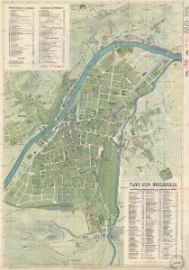Plan von Innsbruck
