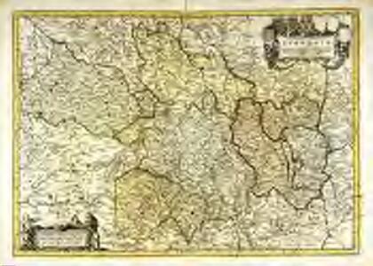 Gouvernement general du Lyonnois, ou sont le Lyonnois, Auvergne, Bourbonnois, Beauiolois, Forez, et la Marche