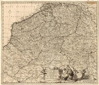Provinciae Belgii Regii Distinctae eo, quo Sunt hodie divisae modo Inter Regem Galiae, Hispaniae et Ordines Provinciarum Faederatarum