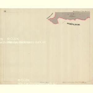 Rumburg - c6626-1-010 - Kaiserpflichtexemplar der Landkarten des stabilen Katasters