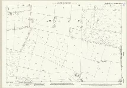 Lincolnshire XXVII.5 (includes: Hibaldstow; Manton; Messingham) - 25 Inch Map