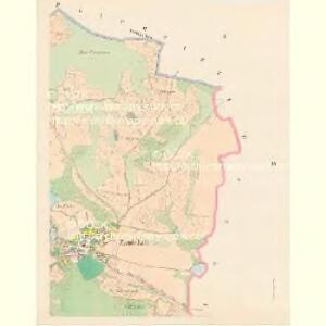 Zamlekau - c9165-1-002 - Kaiserpflichtexemplar der Landkarten des stabilen Katasters
