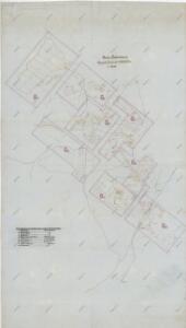 Přehledná mapa naftových polí v okolí Bohorodčan