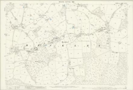 Sussex XXXI.16 (includes: Beckley) - 25 Inch Map