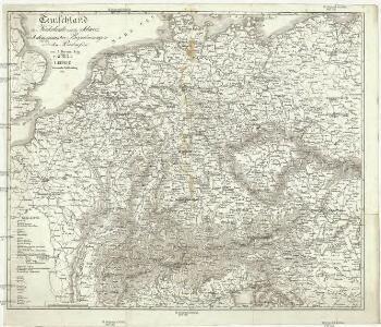 Teutschland die Niederlande und die Schweiz