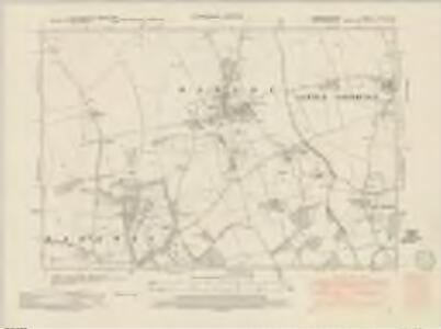 Cambridgeshire LXIIA.NE - OS Six-Inch Map