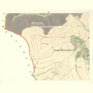 Deutsch Eisenberg (Nemeda Ruda) - m2628-2-004 - Kaiserpflichtexemplar der Landkarten des stabilen Katasters