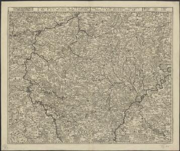 Carte nouvelle du duché de Luxembourg = Nova Luxemburgensis Ducatus tabula