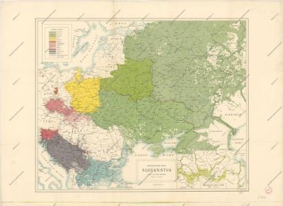 Národopisná mapa Slovanstva