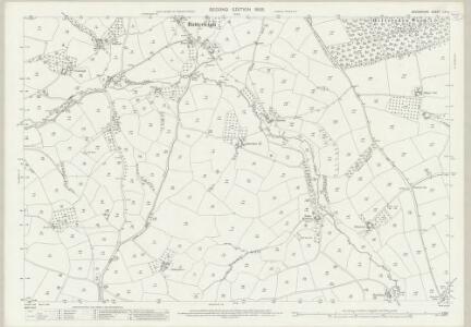 Devon LVI.4 (includes: Bradninch; Butterleigh; Cullompton; Silverton) - 25 Inch Map
