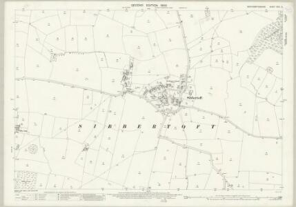 Northamptonshire XXIII.2 (includes: Marston Trussel; Sibbertoft; Sulby) - 25 Inch Map