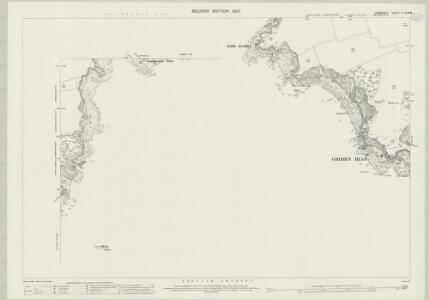 Cornwall LI.15 & 16 (includes: Fowey) - 25 Inch Map