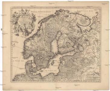 Exactissima totius Scandinaviae tabula