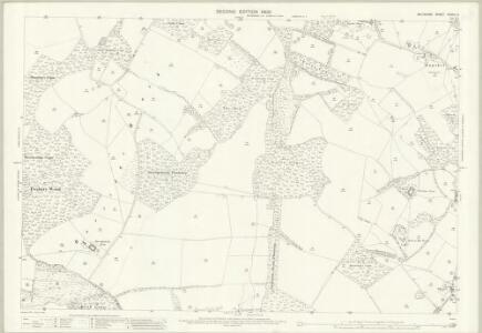 Wiltshire XXXVII.6 (includes: Little Bedwyn; Shalbourne) - 25 Inch Map