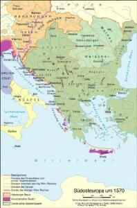 Südosteuropa um 1570