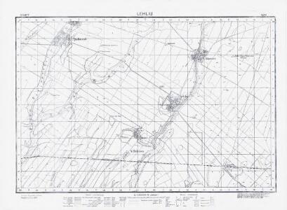 Lambert-Cholesky sheet 4644 (Lehliu)