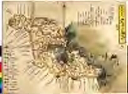 丹後田辺藩領図