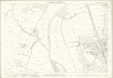 Worcestershire XLVIII.6 (includes: Defford; Eckington; Strensham) - 25 Inch Map