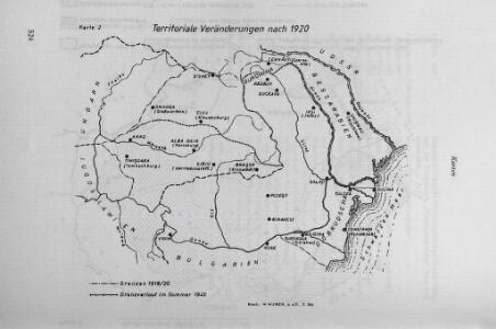 Territoriale Veränderungen nach 1920
