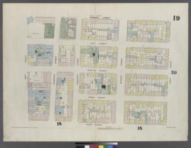 [Plate 19: Map bounded by Hamersley Street, Varick Street, Spring Street, West Street]