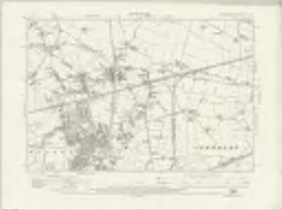 Lancashire CXV.NW - OS Six-Inch Map
