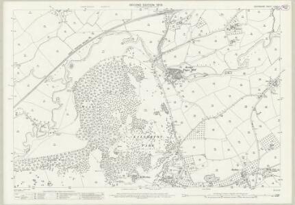 Devon LXVIII.4 (includes: Broad Clyst; Silverton) - 25 Inch Map