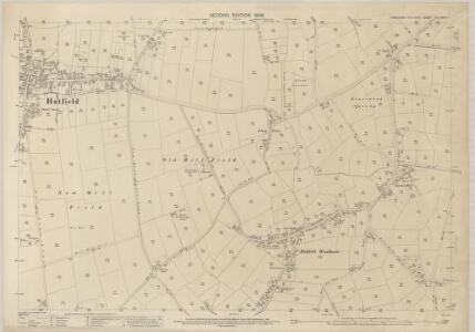 Yorkshire CCLXXVIII.1 (includes: Hatfield) - 25 Inch Map