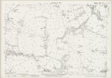 Cheshire XX.10 (includes: Disley; Marple; New Mills) - 25 Inch Map