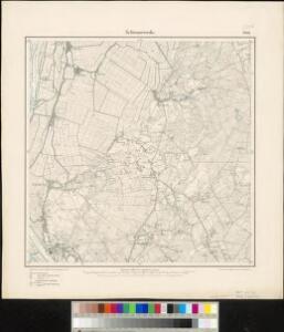 Meßtischblatt 1289 : Schwanewede, 1900