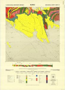 1 : 125,000 Somaliland Protectorate. Geological Survey. D.C.S. 1076, Burao