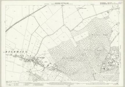 Bedfordshire XXIV.2 (includes: Aspley Heath; Bow Brickhill; Wavendon; Woburn Sands) - 25 Inch Map