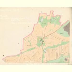 Chlumetz - c2522-1-001 - Kaiserpflichtexemplar der Landkarten des stabilen Katasters