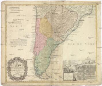 Typus Geographicus, CHILI PARAGUAY FRETI MAGELLANICI &c