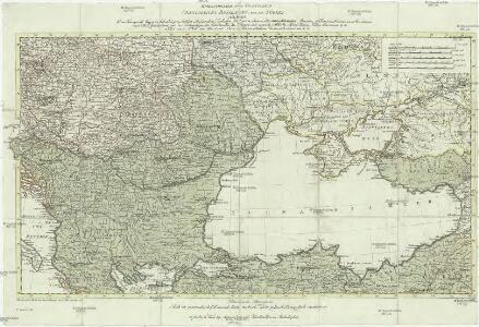 Kriegstheater oder Graenzkarte Oesterreichs, Russlands und der Türkey