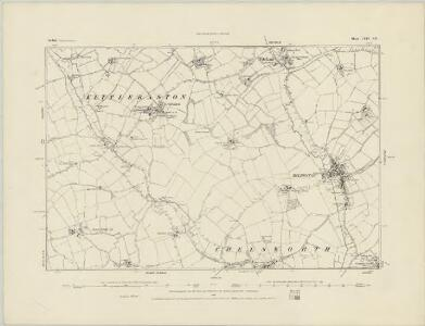 Suffolk LXIV.SW - OS Six-Inch Map