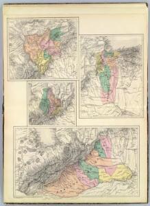 (Provincias de Barquisimeto, Carabobo, Trujillo y Barinas)