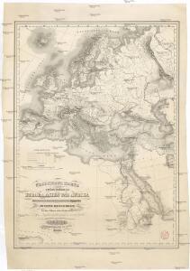 Übersichts Karte zu den Reisen in Europa, Asien und Afrika