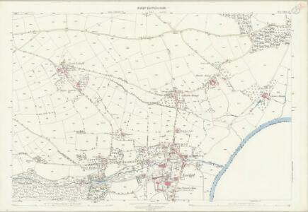 Cornwall XXIII.15 (includes: Lamerton; Stoke Climsland) - 25 Inch Map