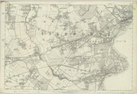 Middlesex XX - OS Six-Inch Map